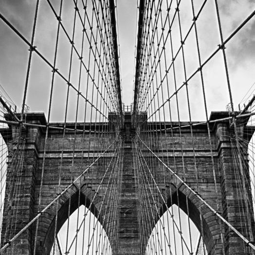 Brooklyn Bridge, Detail of Tower