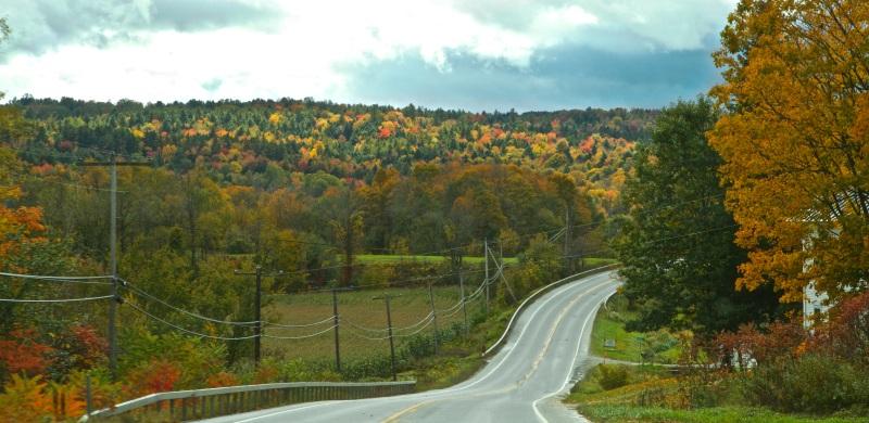 Vermont Road Panorama