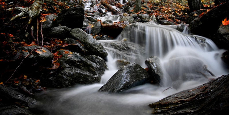 Small waterfall in Vermont