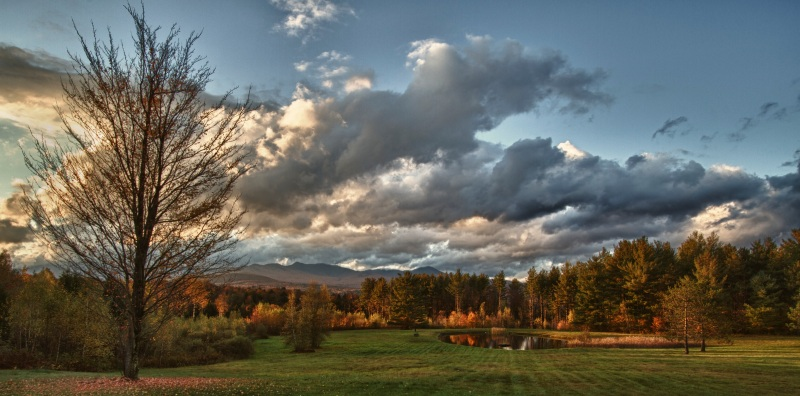 Sunset in Vermont