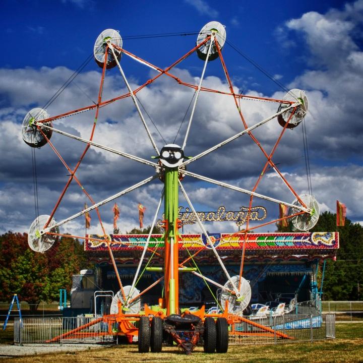 Ferris Wheel at Fun Fair