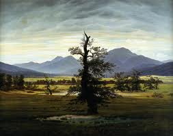 Caspar David Friedrich: The lonely tree