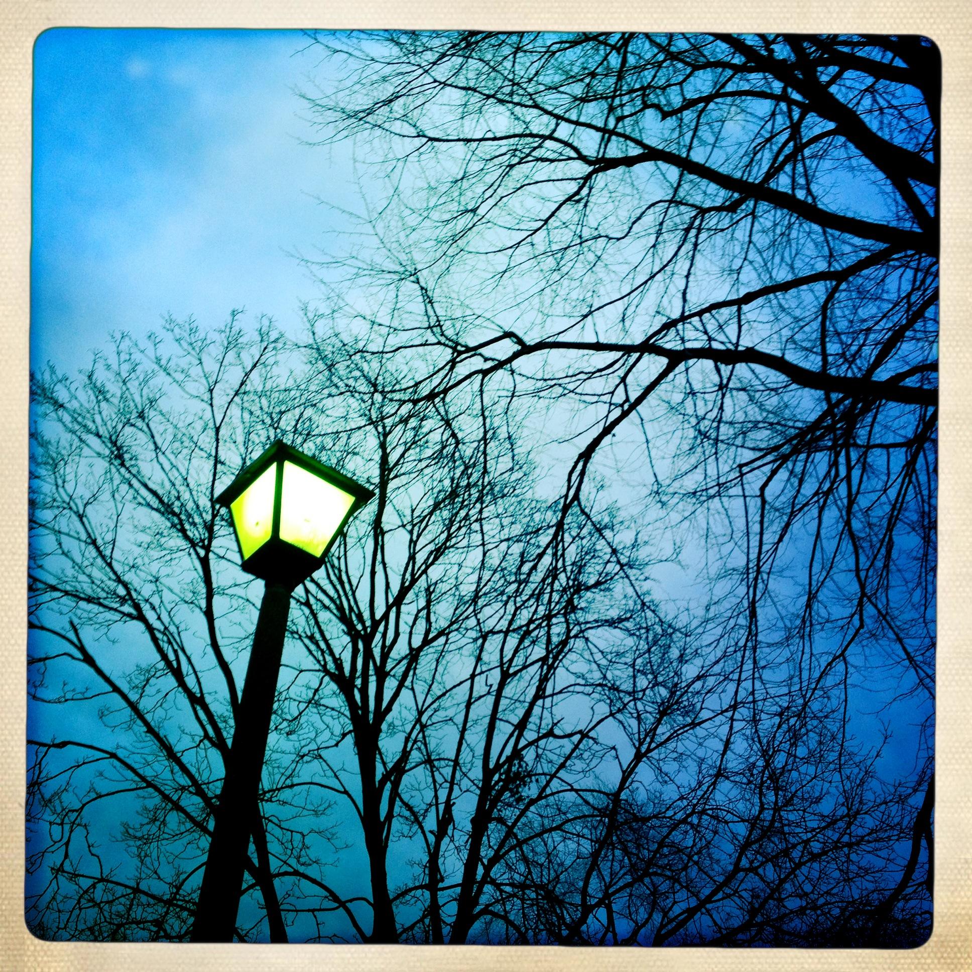 Light post in New York