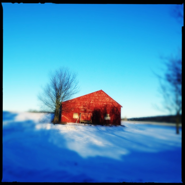 Red Barn in VT