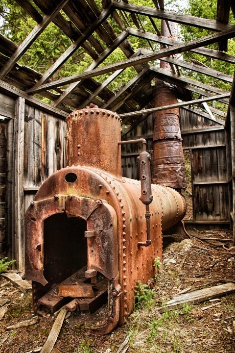 Elkhorn Mining Town Heater