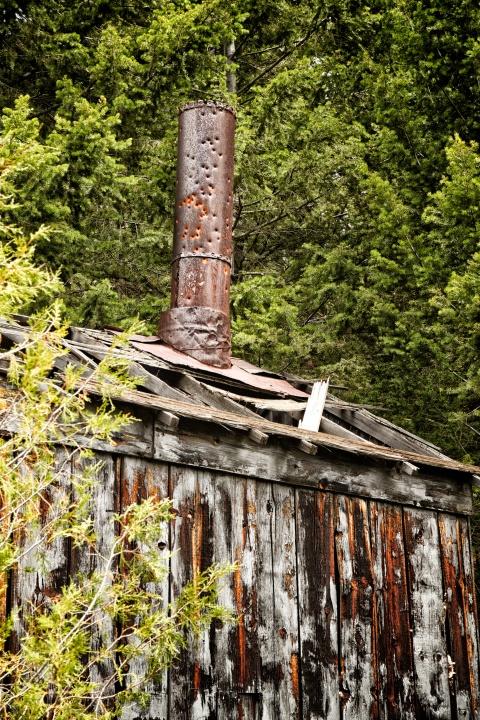 Elkhorn Montana Chimney