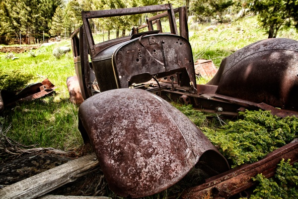Elkhorn Mining Town Car