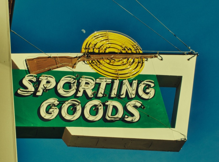 Sporting Good Sign