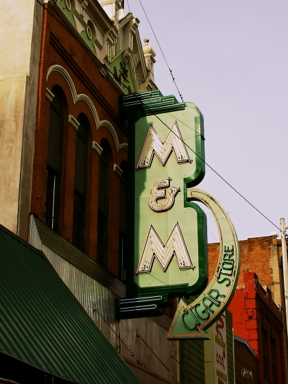 M&M Cigar Store in Butte, MT