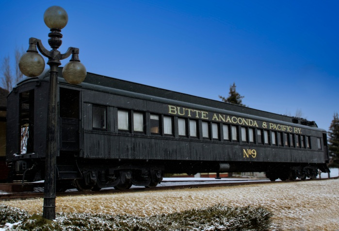Butte Anaconda Vintage Train