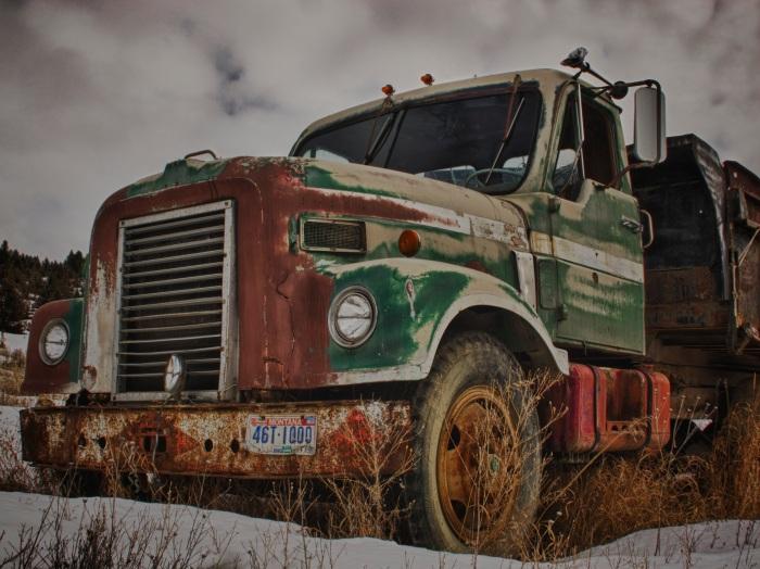 Antique Truck Wreck