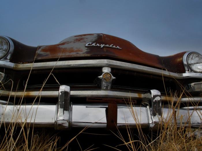 Antique Chrysler wreck
