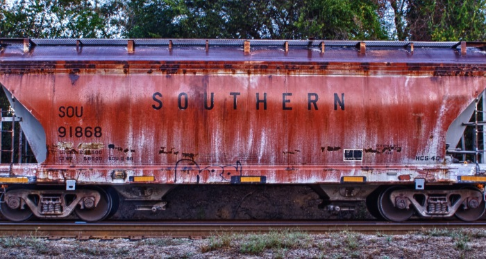 Rail Road Car Graffiti