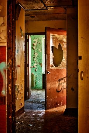 Delapidated Hallway