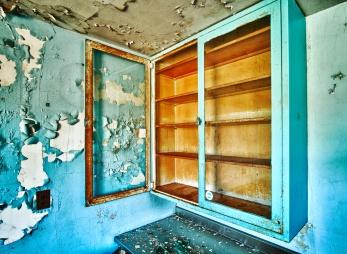 Abandoned Cabinet