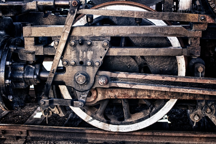 Steam Train Wheel