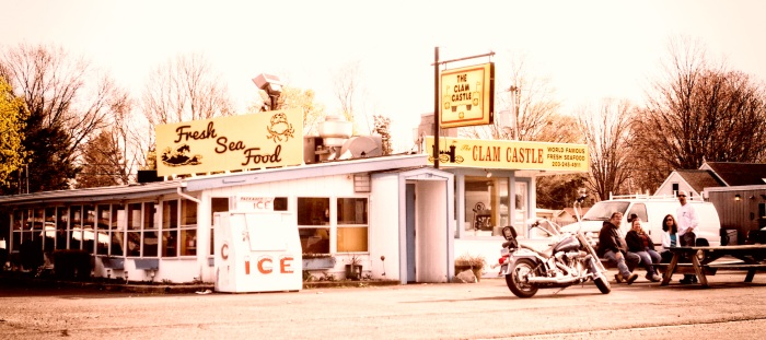 Clam Castle in Clinton, CT