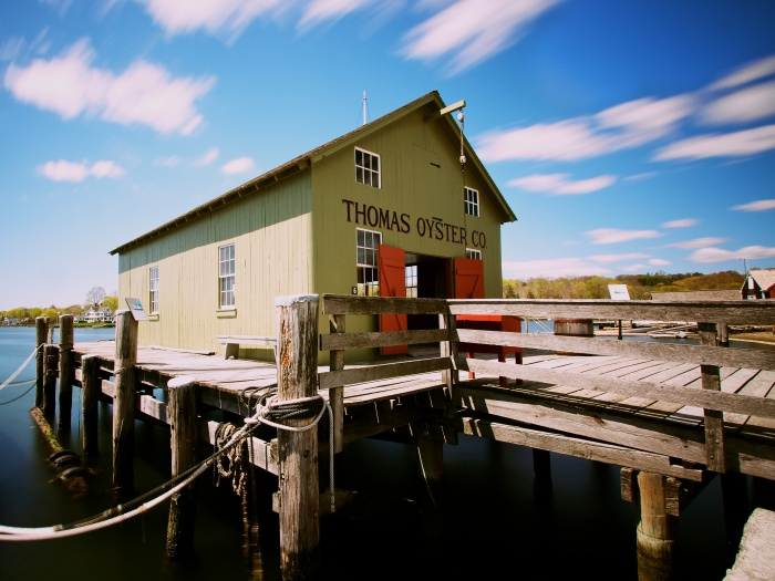 Mystic Seaport Boat House