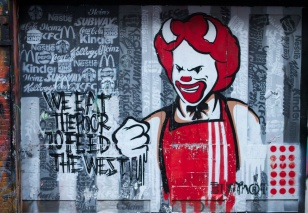 Graffiti - McDonalds