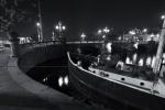 Amsterdam bridge atnight