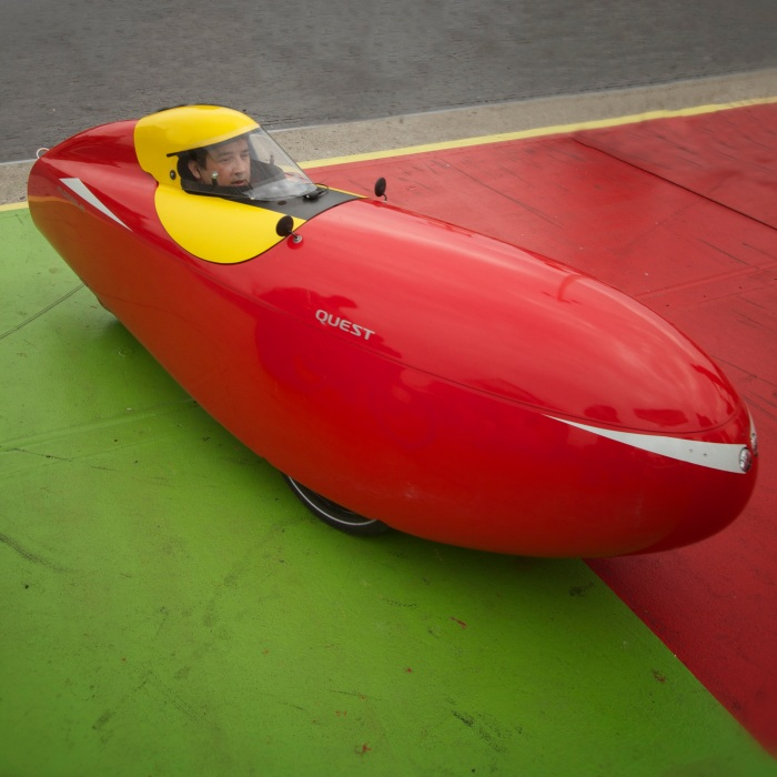 Velomobile closeup