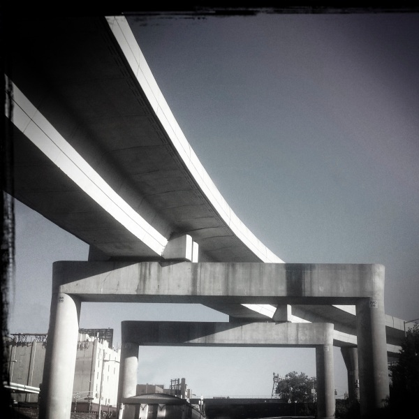 Freeway overpass NY