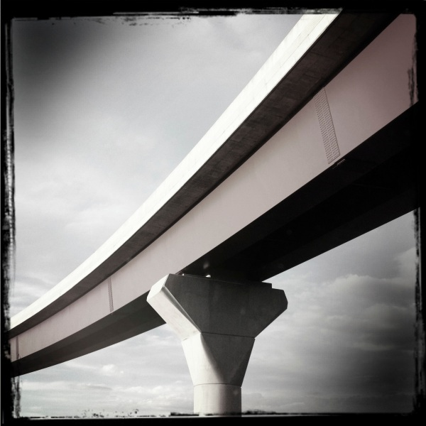 Freeway overpass CT
