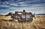 Vintage Harvester Combine