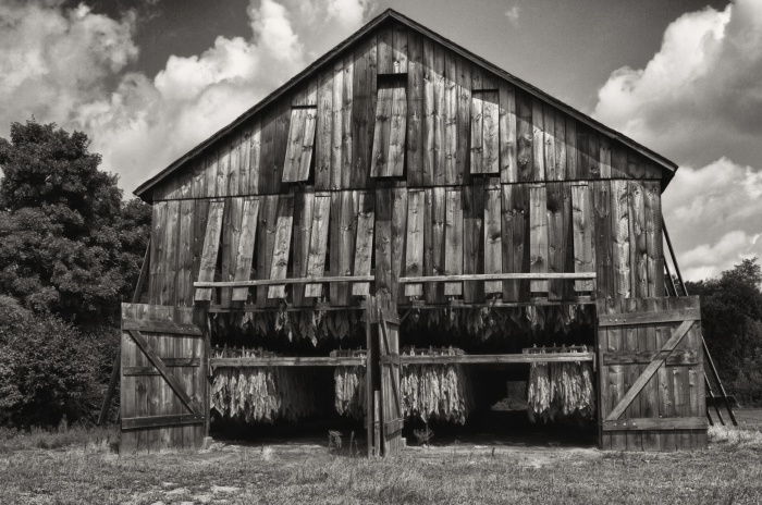 Tobacco Barn Front