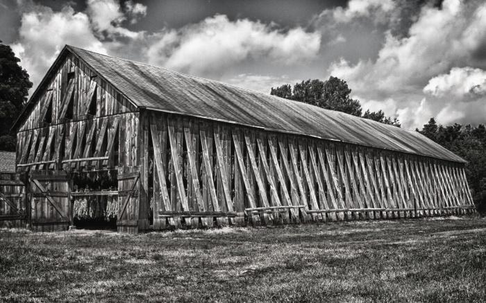 Tobacco Barn Side