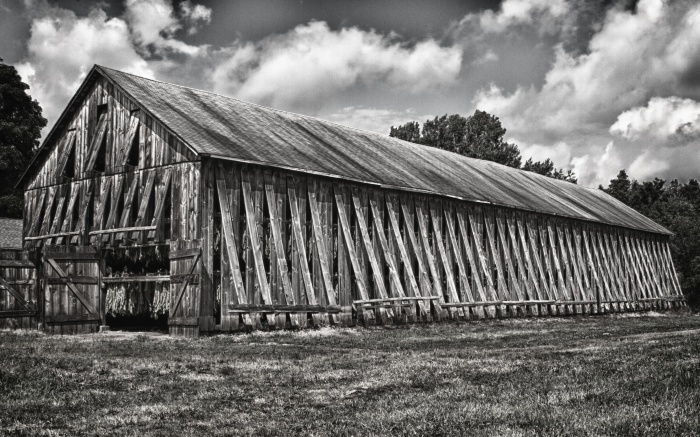 Tobacco Barn Side