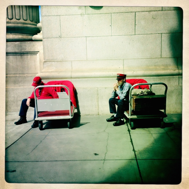 Porters at Union Station, Washington DC