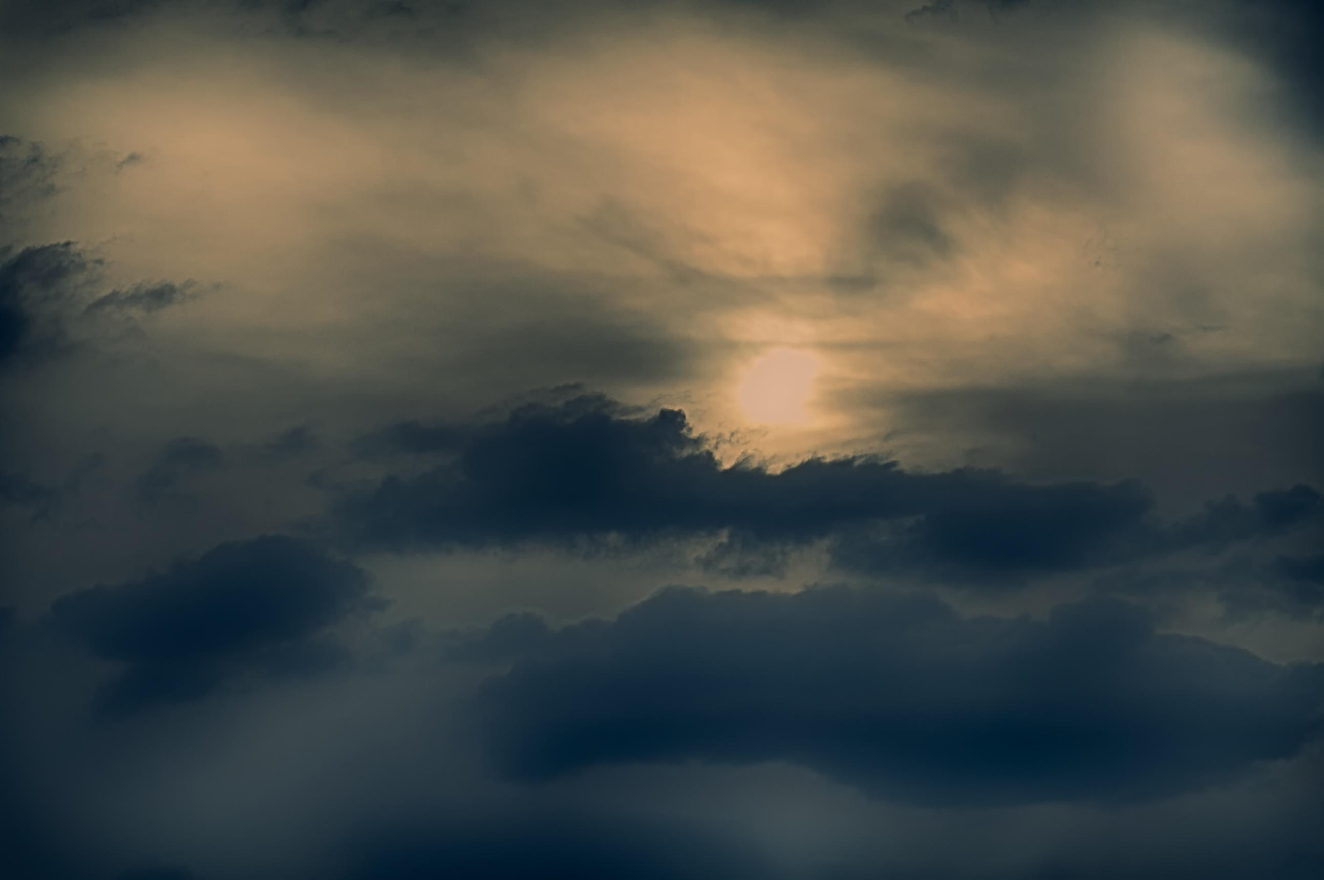 Summer Storm Sunset