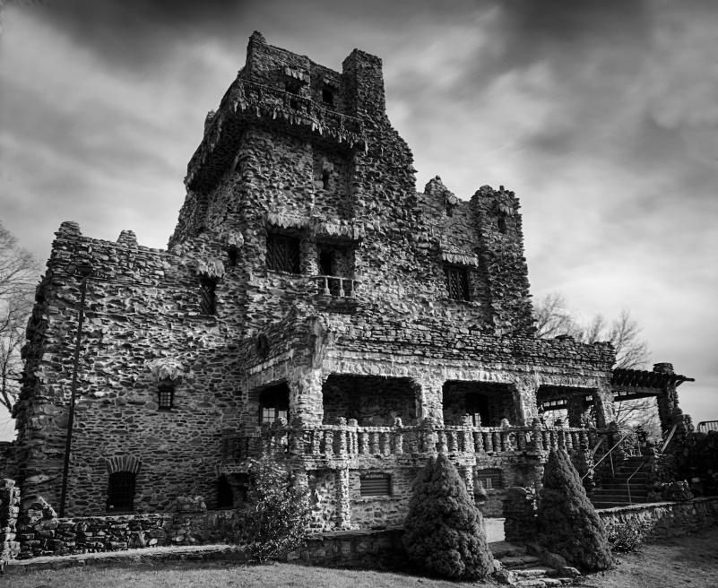Gillette Castle Blackandwhite