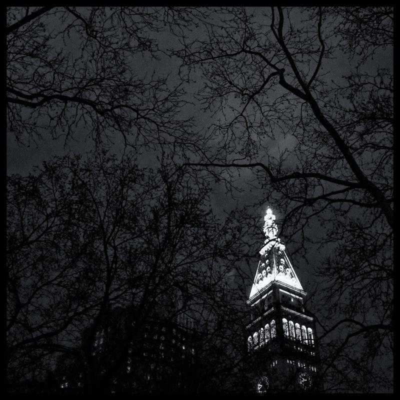 Gotham Night Sky