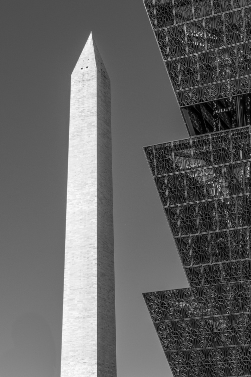 Washington Monument and African American Museum