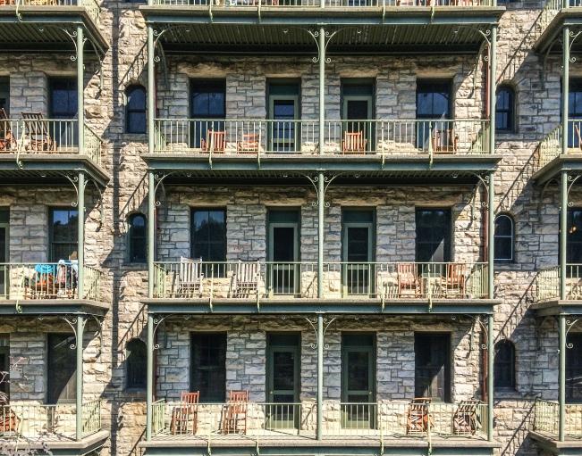 Mohonk facade