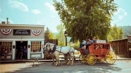 old-fashioned carriage